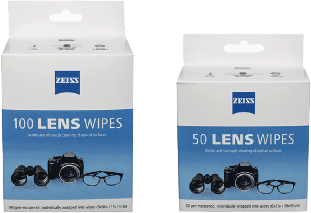 Personalized Vision - ZEISS Pre-Moistened Lens Cleaning Wipes